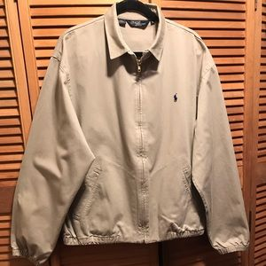 Polo Ralph Lauren Bayport Khaki Cotton Jacket